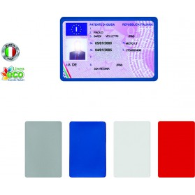 Portacard singolo in PVC ELITE Made in italy